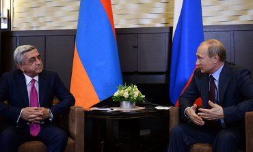Սոչիում կհանդիպեն Սերժ Սարգսյանն ու Վլադիմիր Պուտինը