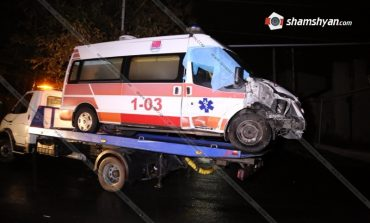 ՖՈՏՈՇԱՐՔ. Խոշոր վթար Դավիթաշենում. բախվել են շտապօգնության «Ֆորդն» ու «Հոնդան». վերջինիս վարորդը սթափ չի եղել. կա 5 վիրավոր
