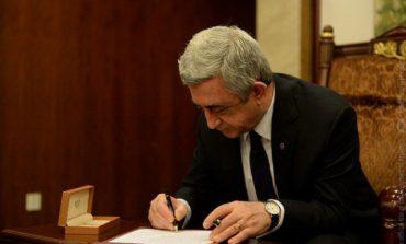 Ս. Սարգսյանը ստորագրել է «ԵԱՏՄ մաքսային օրենսգրքի մասին» պայմանագիրը վավերացնելու մասին օրենքը