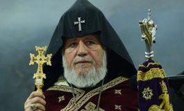 Կաթողիկոսի շնորհավորական ուղերձը ավետման տոնի առթիվ