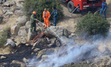 Ջաջուռ գյուղում բռնկված հրդեհը մարվել է. այրվել է մոտ 50 հա բուսածածկույթ