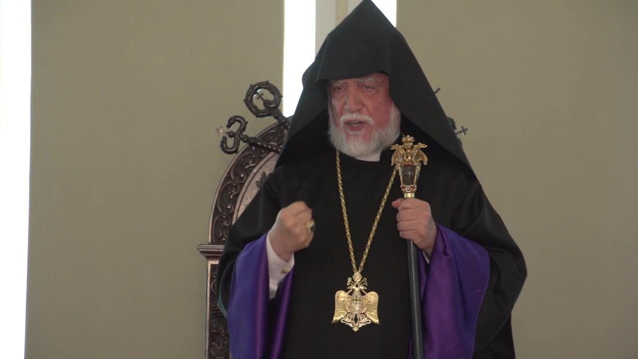 Արցախը պետք է միանա Հայաստանին. Ն.Ս.Օ.Տ.Տ. Արամ Ա կաթողիկոս