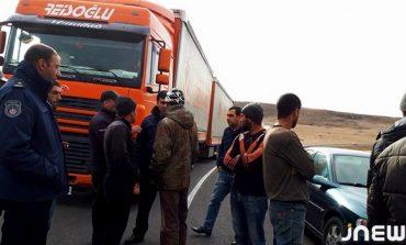 Ախալքալաքի շրջանի բնակիչները փակել են Կարծախ-Ախալքալաք մայրուղին