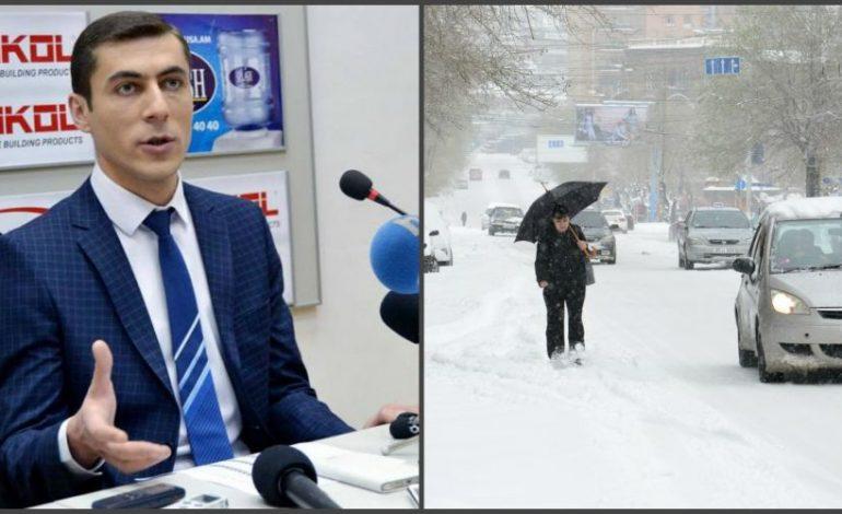 Ձյուն է գալու. Գագիկ Սուրենյանը տեղեկացնում է |