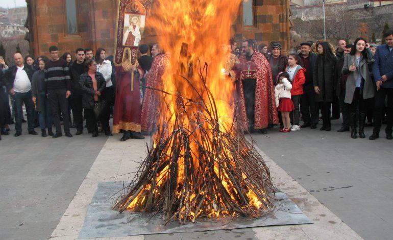 Այսօր ՀՀ-ում նշվեց Տյառնընդառաջի տոնը (լուսանկարներ)