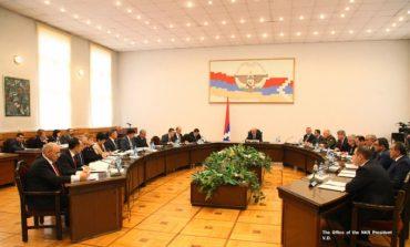 Բակո Սահակյանի նախագահությամբ տեղի է ունեցել Արցախի կառավարության անդրանիկ նիստը