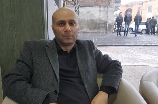 ՇՊՀ դասախոս Հովհաննես Խորիկյանը դադարեցրել է հացադուլը