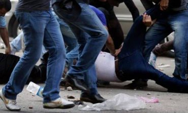 ՖՈՏՈ. Մոսկվայում ծեծել են հաղորդավար Կարեն Քոչարյանին