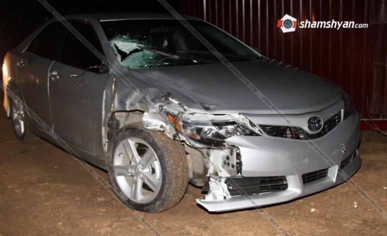 ՖՈՏՈ. Մահվան ելքով վրաերթ Բագրատաշենի մոտ. 33-ամյա վարորդը մաքսակետով դիմել է փախուստի