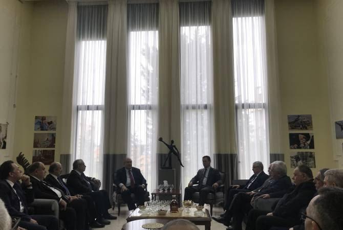 Արմեն Սարգսյանը Լիբանանում ներկայացրել է Հայաստանի առջև առկա մարտահրավերների հաղթահարման իր տեսլականը