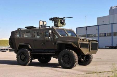 ՏԵՍԱՆՅՈՒԹ. Թուրքիայում փորձարկվել է հեռակառավարվող զրահամեքենա