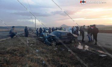 ՖՈՏՈ. Վթար Արագածոտնի մարզում. հինգ վիրավորների թվում զինծառայողներ կան