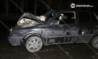 ՖՈՏՈ. ՊՆ 32-ամյա աշխատակիցը խմած վիճակում Volkswagen-ով բախվել է Գագիկ Ծառուկյանի հորը պատկանող Toyota Land Cruiser-ին. կա վիրավոր