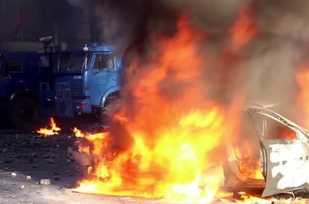 Ավտոտեխսպասարկման կետի չորանոցում ամբողջությամբ այրվել է «Grand Cherokee» մակնիշի մեքենան. դեպքի վայր է մեկնել 6 մարտական հաշվարկ