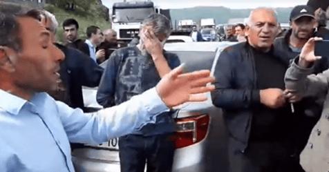 Կաթողիկոսը և Սերժ Սարգսյանը  30 հեկտար հող են վերցրել թերակզուց.ցուցարարները շարժվում են Երևան