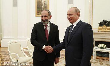 Ռուսաստանի և Հայաստանի միջև հատուկ հարաբերություններ են, և ես վստահ եմ, որ այդ հարաբերությունները կշարունակեն լինել յուրահատուկ. ՀՀ վարչապետը՝ Վ. Պուտինին