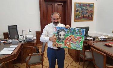 11-ամյա Աղասիի նվերը վարչապետին
