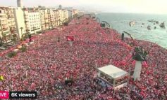 Թուրքիայում 2 մլն մարդ է հանրահավաքի դուրս եկել