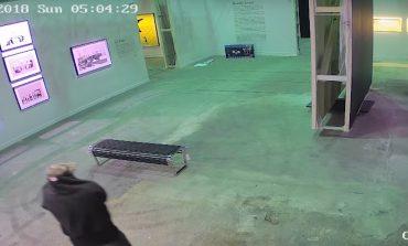 ՏԵՍԱՆՅՈՒԹ. Տեսախցիկները ֆիքսել են՝ ինչպես է անհայտ անձը գողանում Բենքսիի կտավը