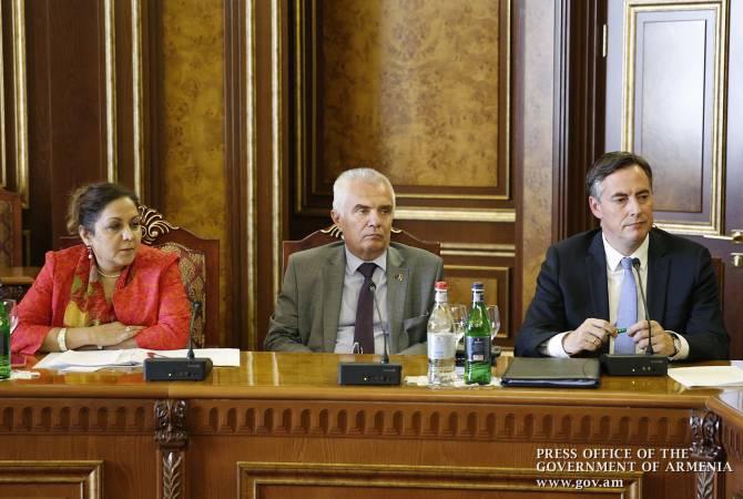 Եվրախորհրդարանի պատվիրակությունն աջակցում է Հայաստանում հավակնոտ բարեփոխումների իրականացմանը