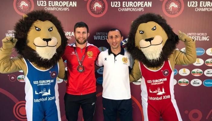 Ըմբշամարտ. Մխիթարյանը՝ երիտասարդների Եվրոպայի առաջնության բրոնզե մեդալակիր