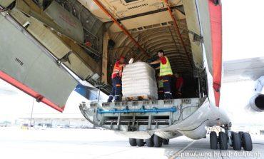 ՏԵՍԱՆՅՈՒԹ. Հայաստանից ՌԴ ԱԻՆ օդանավով 30 տոննա օգնություն է տեղափոխվել Սիրիա