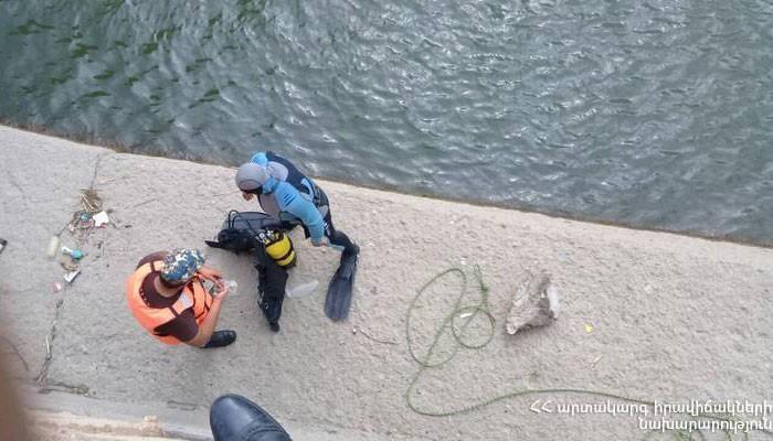 ՖՈՏՈ. Շամիրամի ջրանցքում հայտնաբերվել է 2001թ. ծնված քաղաքացու դի