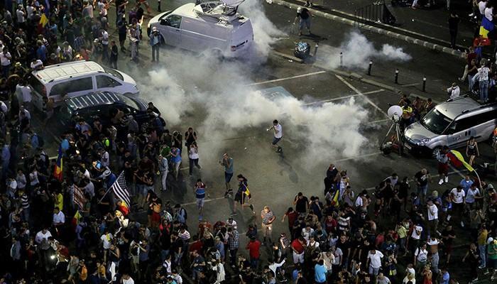 Ռումինիայում հակակառավարական ցույցերի ժամանակ 440 մարդ է տուժել