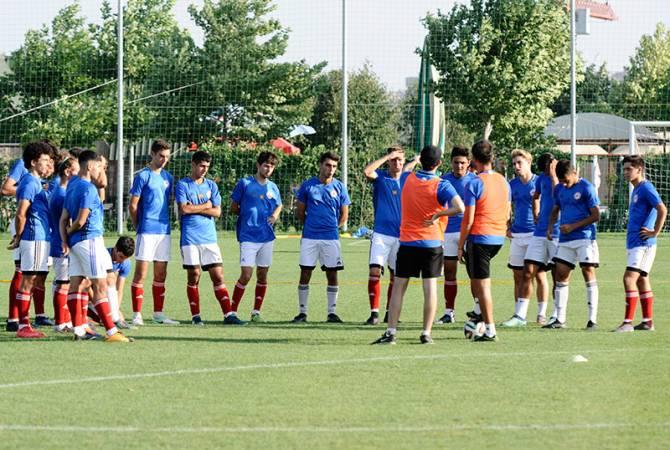 Հայաստանի Ֆուտբոլի Մ-19 հավաքականը պարտվեց Բելառուսի ընտրանուն