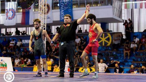 Հայաստանի 2 ըմբիշներ մտել են աշխարհի առաջնության եզրափակիչ