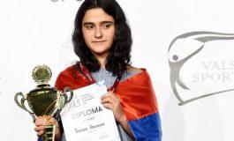 Աստղիկ Հակոբյանը՝ շախմատի Եվրոպայի մինչև 14 տարեկանների փոխչեմպիոն