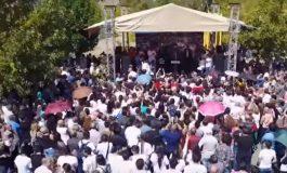 ՏԵՍԱՆՅՈՒԹ. ԲՀԿ նախընտրական քարոզարշավը մեկնարկել է Նուբարաշենում՝ հազարավոր համակիրների մասնակցությամբ