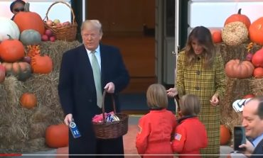 Հելոինի տոն Սպիտակ տանը. երեխաները քաղցրավենիք ստացան  Թրամփից և իր տիկնոջից