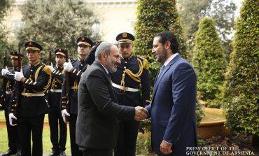 Նիկոլ Փաշինյանը և Սաադ Հարիրին քննարկել են Հայաստանի և Լիբանանի միջև հարաբերությունների զարգացման հեռանկարները