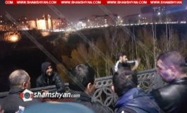 Արտակարգ դեպք Երևանում, 2 տղամարդ «Հաղթանակ» կամրջի վտանգավոր եզրագիծն անցել են և սպառնում են ինքնասպան լինել. նրանք պահանջում են Նիկոլ Փաշինյանին