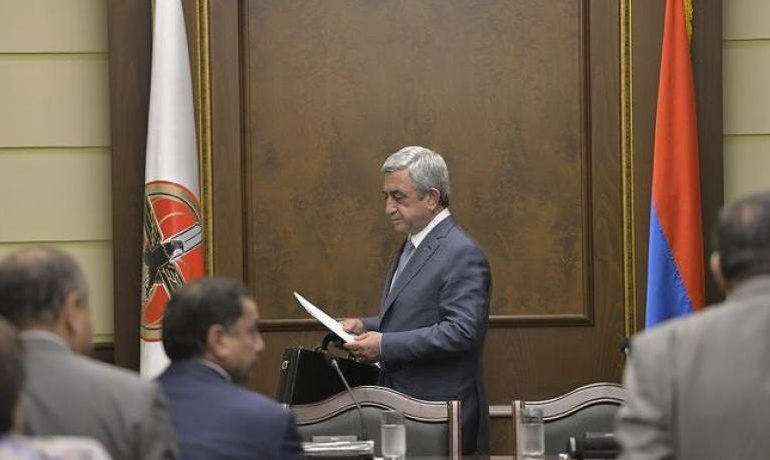 Սերժ Սարգսյանը որոշել է ՀՀԿ-ից ով որտեղ կառաջադրվի