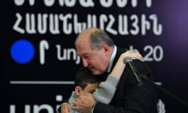Ուրախ կլինեմ, որ ինձ նամակ գրես և ասես. «Պարոն Սարգսյան, ես տեսնում եմ» . նախագահը` 12-ամյա Գոռին