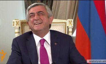 Քարը քարին չենք թողնելու, ասել է Սերժ Սարգսյանը