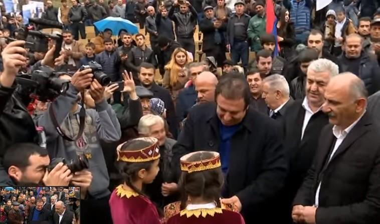 Սերգեյ Բագրատյանի դուխն էլ է բավարարում, գիտելիքն էլ.  Ծառուկյանը նախընտրական հանդիպումներ է ունեցել Վայոց Ձորի և Արարատի մարզերում