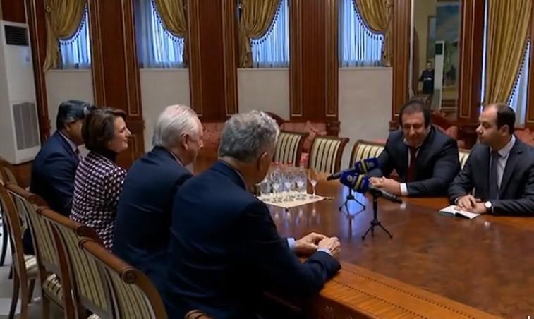 Բարի գալուստ Հայաստան. Գագիկ Ծառուկյանն ընդունել է բրիտանացի պատվավոր հյուրերին