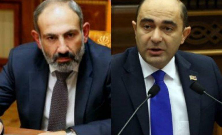 ՏԵՍԱՆՅՈՒԹ. Մարուքյանը գիտի ԱԺ-ն Սերժ Սարգսյանի քուչենա, ու եկալա անընդհատ  Սերժին քվեարկելու. Նիկոլ Փաշինյանը ինչու էր կասկածում Մարուքյանին