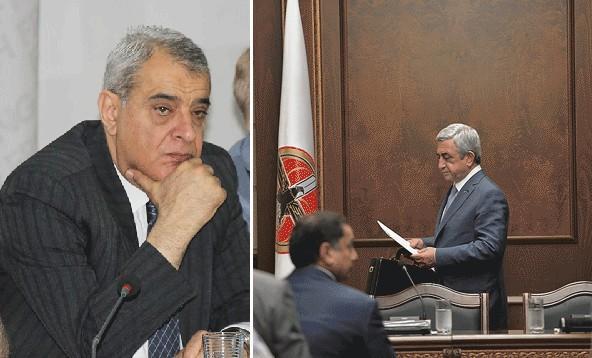 Սերժ Սարգսյանին փաստացի մեղադրանք առաջադրվեց