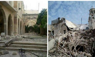 Հալեպում պայթեցված հայկական եկեղեցին վերականգնումից հետո կբացվի գարնանը