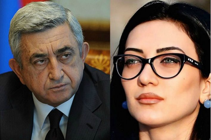 Սերժ Սարգսյանին կպաշտպանեն Արփինե Հովհաննիսյանը և Դավիթ Հարությունյանը