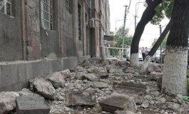 Երևանում շենքի փլուզման հետևանքով 7 քաղաքացի տեղափոխվել է հիվանդանոց