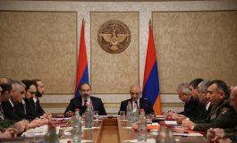 ՏԵՍԱՆՅՈՒԹ. Նիկոլ Փաշինյանի և Բակո Սահակյանի համանախագահությամբ տեղի է ունեցել Հայաստանի և Արցախի Անվտանգության խորհուրդների համատեղ նիստ