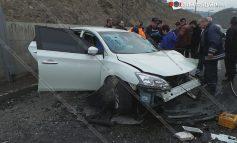 ՖՈՏՈ. Խոշոր ավտովթար Սարալանջի ճանապարհին. 7 վիրավորներից 3-ը երեխաներ են