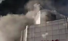 ՏԵՍԱՆՅՈՒԹ. Բաքվի առևտրի կենտրոնում խոշոր հրդեհ է բռնկվել