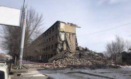 Գյումրիում շենք է փլուզվել