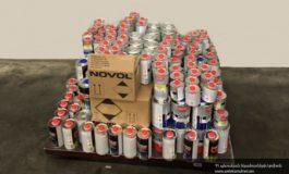 Ավտոմեքենայի թաքստոցերից մաքսակետում հայտնաբերել են 254 կգ ակրիլային լաքեր և կարծրացուցիչներ. ՊԵԿ